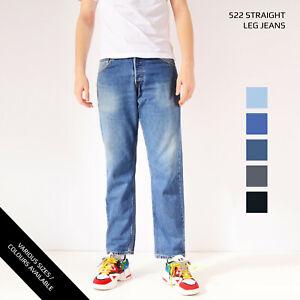 VINTAGE-LEVIS-522-STRAIGHT-LEG-JEANS-DENIM-GRADE-A-W30-W32-W34-W36-W38