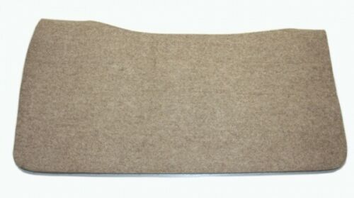 Weaver Contoured Filzunterlage 81 x 81  cm Westernpad Wollfilz 6mm Pad Liner