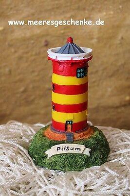 AnpassungsfäHig Deko Leuchtturm Pilsum Ca. 10 X Ø: 6,5 Cm, Aus Polyresin