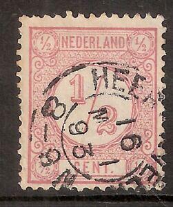Nederland-Kleinrondstempel-op-NVPH-nr-30