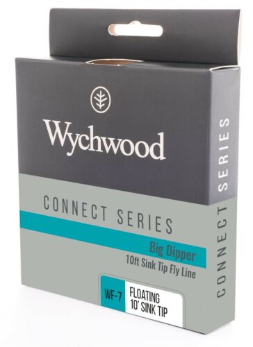 Wychwood Connect Big Dipper 10ft Sink Tip Fly Line All Sizes Full Range Fishing