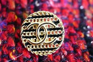 100-Chanel-button-1-pieces-metal-cc-logo-18-mm-0-7-inch-gold