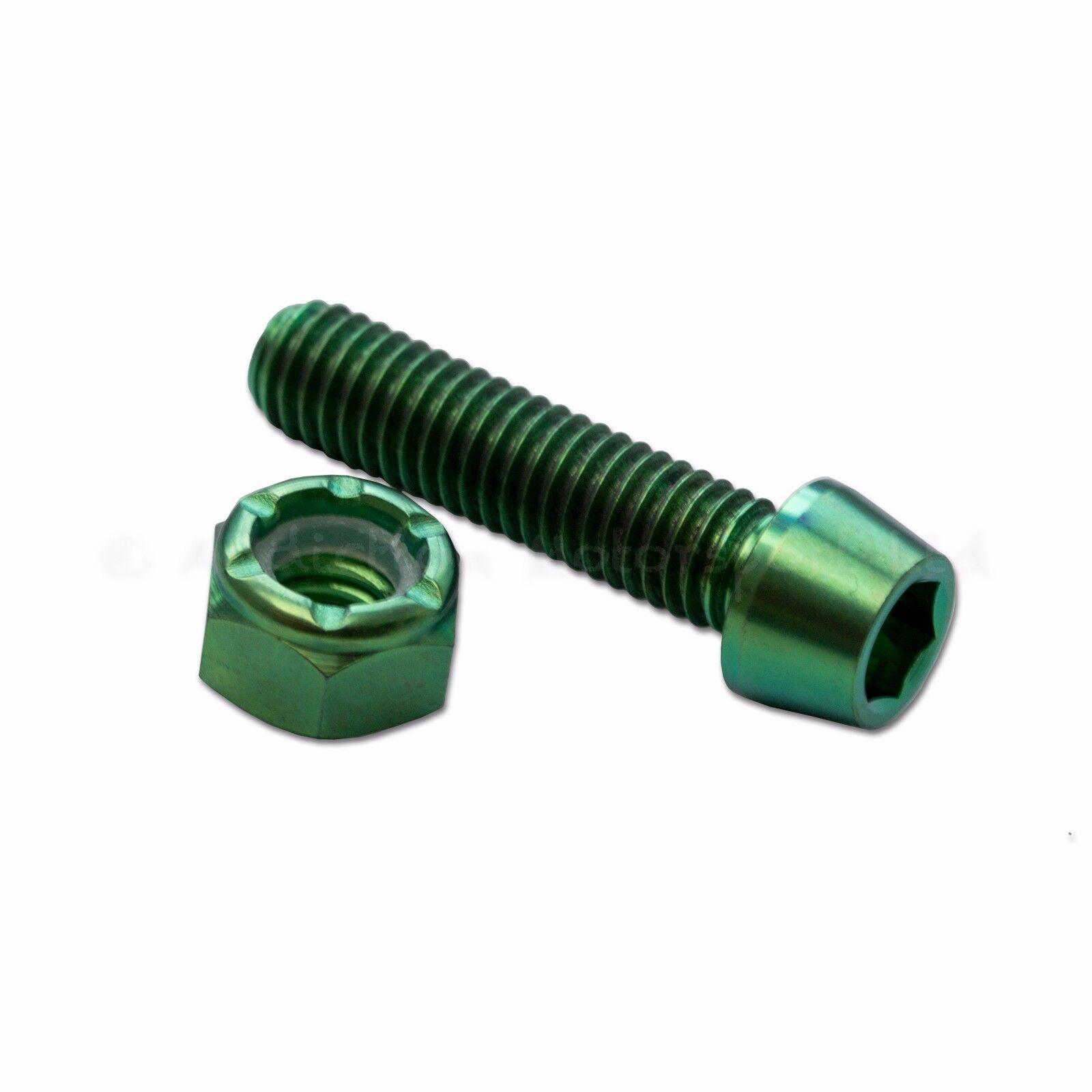 19RCS 16RCS 15RCS Brembo Brake Master Cylinder Black Titanium Lever Screw Nut