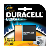 Duracell Ultra Lithium Camera Battery 245 6 Volts
