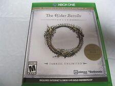 Elder Scrolls Online: Tamriel Unlimited (Xbox One, 2015) Game