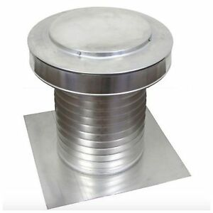 Aluminum Flat Roof Exhaust Static Vent Attic Ventilation