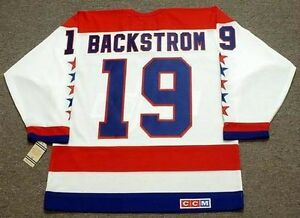 new styles f44fd ab502 Details about NICKLAS BACKSTROM Washington Capitals CCM Vintage Away NHL  Hockey Jersey