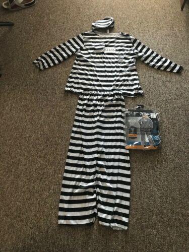 Adult Plus Lady Lawless Prisoner Costume #567 HaLL