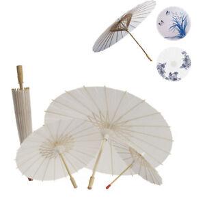 Chinese Vintage Paper Umbrella Wedding Decor Photo Shoots Parasol Dance Prop CA