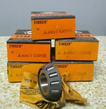 Timken A 6067 Roller Bearing Cone Lot Of 5 Nos