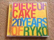 MOJO - Piece of Cake 20 Years of Ryko 20 track celebration CD Sent POST FREE UK