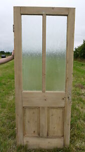 Victorian-Glazed-period-pine-reclaimed-stripped-door-GL31-31-1-4-x-78-1-2