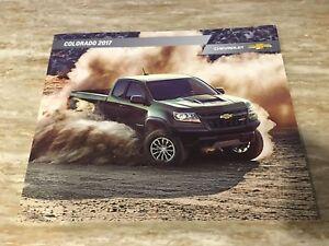 Image Is Loading 2017 Chevy Colorado 42 Page Original S Brochure