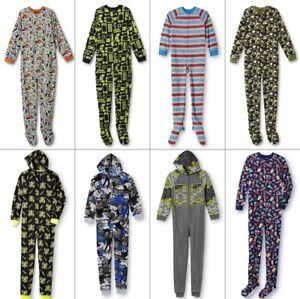 19fd72123 NEW Boys Pajamas Blanket Sleeper One Piece Video Game