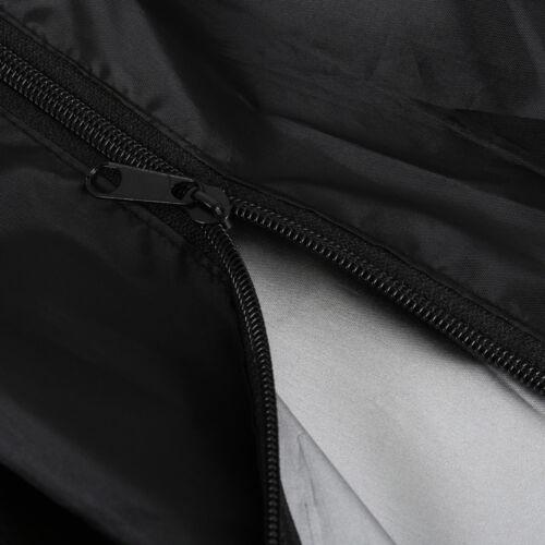 Waterproof Outdoor Black Patio Gas Heater Cover Protector Garden Polyester 236CM