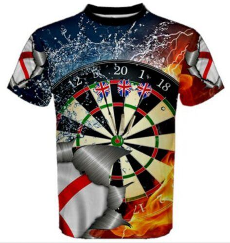 Le plus grand Fléchettes Bulldog Angleterre Custom 3d T-shirt jamais fait ne pas manquer.