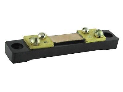 500 A 75 mV DC Current Meter Shunt Résistance Résistance pour DC Ampèremètre
