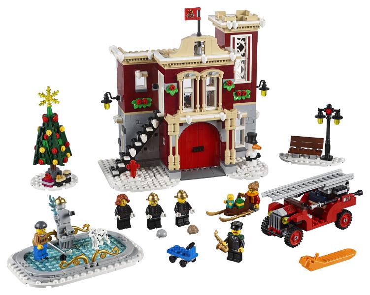 LEGO 10263 Creator Creator Creator Winter Village Fire Station NEW Factory-sealed box 2b4e6e