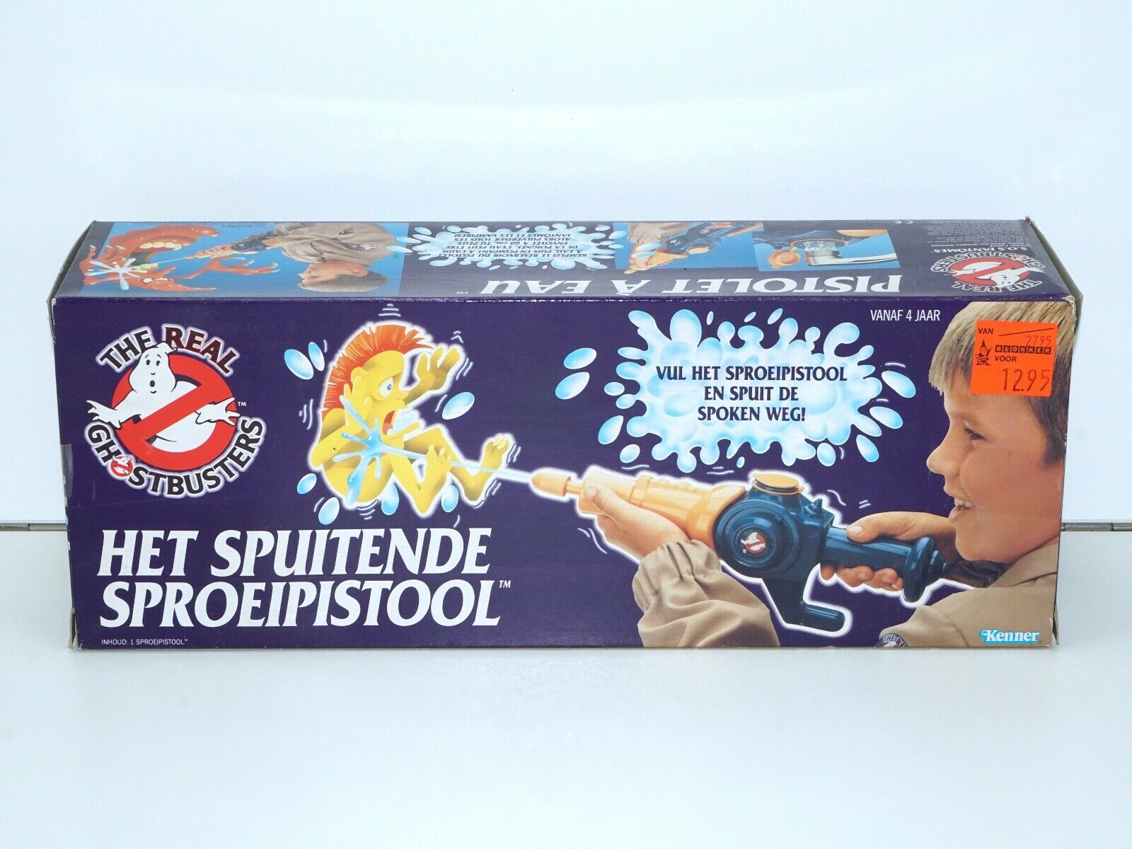 GHOSTBUSTERS WATER ZAPPER MIB NRFB NL FR BENELUX BOX 1980s KENNER