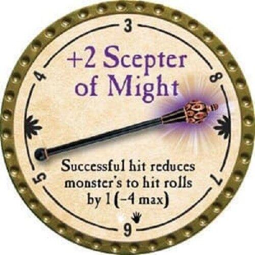 +2 Scepter of Might  Ultra Rare True Dungeon Token
