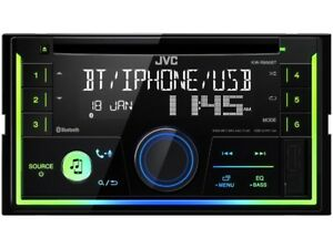 JVC-2-Din-Autoradio-KW-R930BT-Android-Spotify-Bluetooth-iPhone-Multicolor-B-Ware