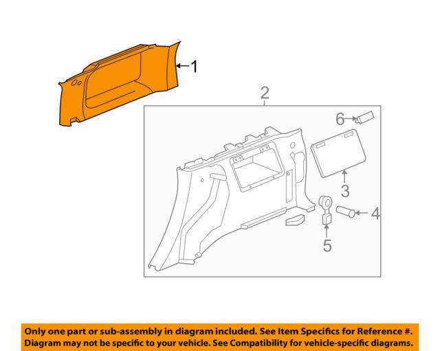 Hummer GM OEM 06-10 H3 Front Seat-Seat Back Panel Trim 15815905