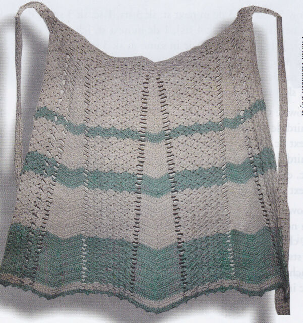 Crochet Pattern ~ HEIRLOOM APRON ~ Instructions