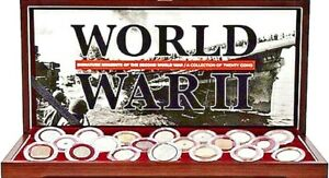 Signature-Moments-of-the-Second-World-War-A-collection-of-20-coins-Box-Story