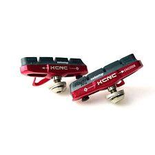 KCNC C7/CB1 Aluminum Road Bike Bicycle Cycling Brake Pads Shoes -  Red