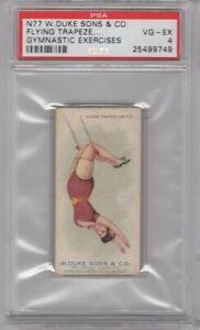 1887-N77-Duke-Cigarettes-Gymnastic-Exercises-Flying-Trapeze-Graded-PSA-4