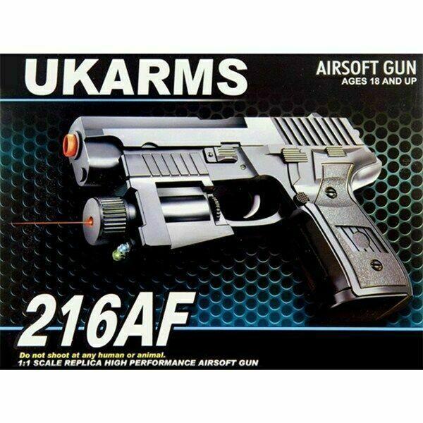 Uk Arms 216af Spring Airsoft Pistol For Sale Online Ebay