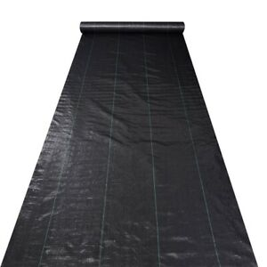 6ft-x-250ft-4-1oz-Landscape-Fabric-Weed-Barrier-Woven-PP-UV-Treated-Ground-Cover