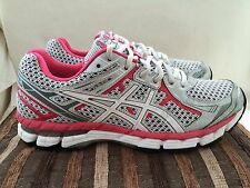 Asics GT2000 White / Pink Trainers Size 6 UK Womens. Excellent Condition