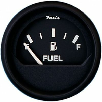 "FUEL GAUGE FARIA 2/"" 678-12801 MARINE BOAT FUEL GAS TANK GAUGE ELECTRICAL"
