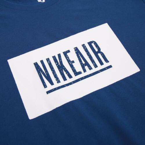 Mens Nike Air Undercover Lab Pigalle Shirt Blue Gym Fitness Sneakerhead XXL NWT