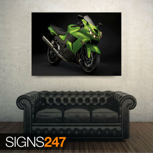 Motorbike Poster KAWASAKI ABS Picture Poster Print Art A0 A1 A2 A3 A4 1610