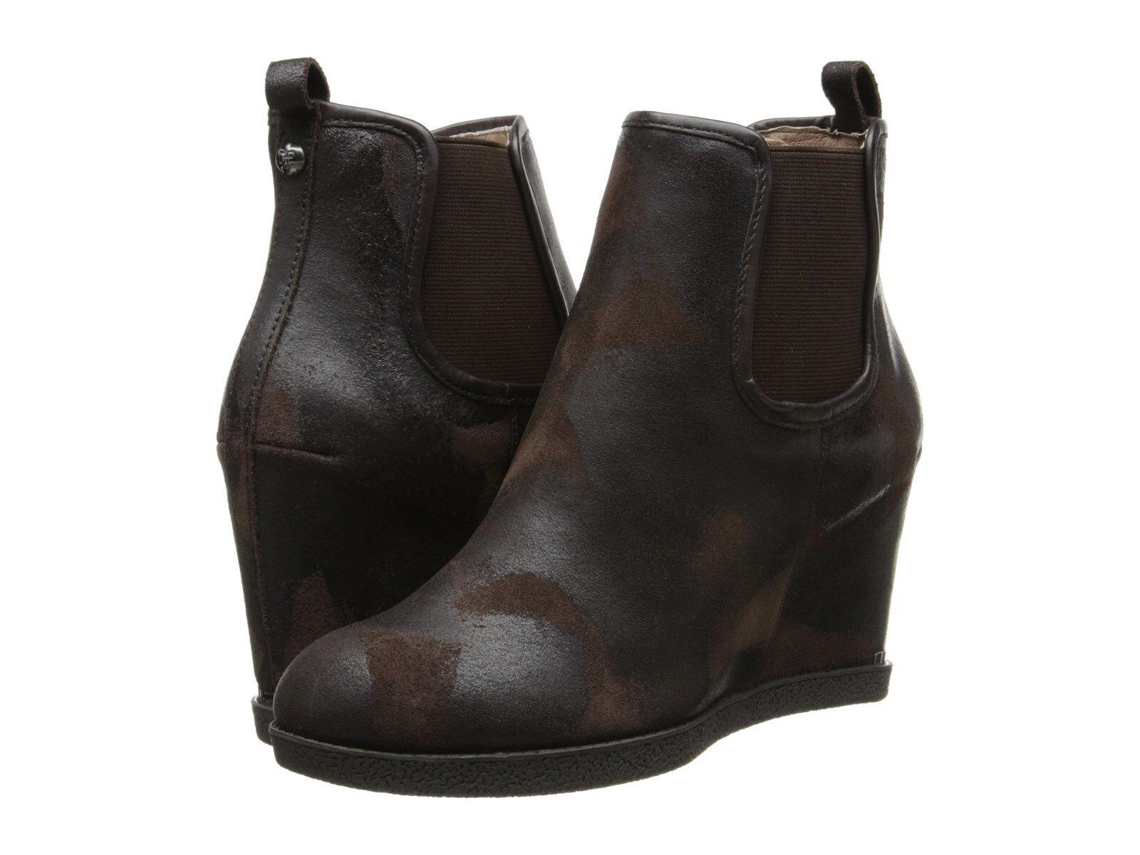 Donald J  Pliner Dillon Vintage Sue de Fashion Ankle stivali donna Expresso 9.5 NIB  designer online