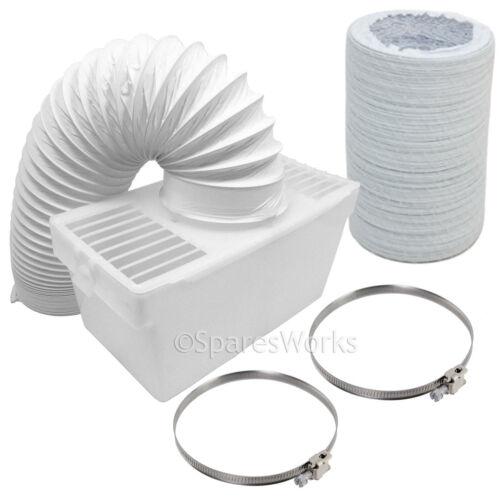 1 METRO TUBO CONDENSATORE Box con extra lungo tubo /& Clip per SWAN Asciugatrice