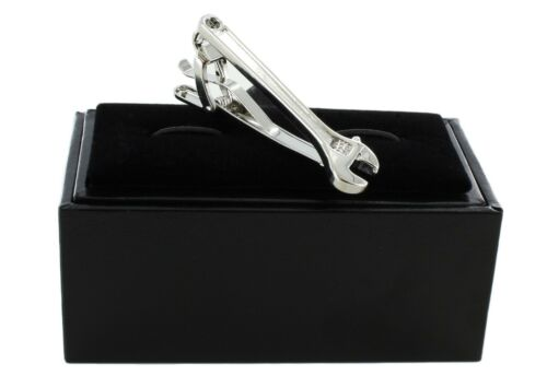 Michelsons of London Silver Wrench Tie Clip