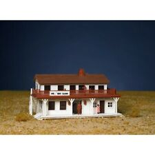 Bachmann 45162 HO Scale Snap Kit Saloon and Barber Shop in One Building