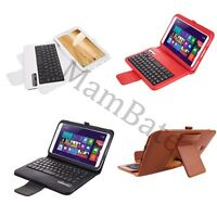 Wireless Bluetooth Abs Keyboard Pu Leather Case For Samsung Galaxy Note8.0