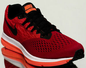 a7a17d4943aa Nike Zoom Winflo 4 men running run sneakers NEW gym red black ...