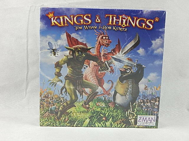 Kings & Things Game by Z-Man Brand Nuovo Factory Sealed