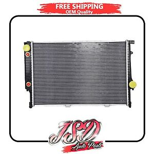 952 New Radiator For BMW 750iL 1988-1995 850i 5.0 5.4 V12 Lifetime Warranty