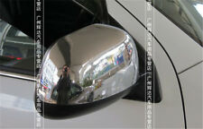 Chrome Door Mirror Cover Rearview Mirrors Trim for 10-15 ASX Outlander Sport RVR