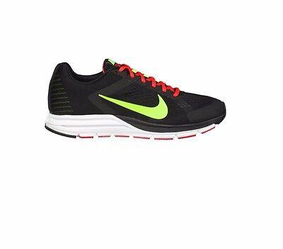 Nike Zoom Structure + 17 UK Size 7 10 Nuevas Running Zapatillas Zapatos Negro Raro | eBay