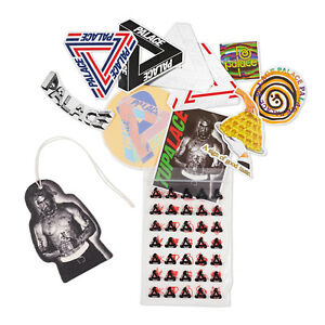345f898b9c7b Palace Skateboards Tupalace Sticker Pack + Tupac Air Freshener ...