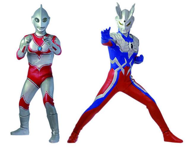 Bandai Ultraman Luminous 3 Figure Gashapon Jack Zero LED set 3 pcs