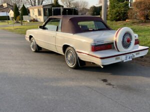 1984 Chrysler Le Baron convertible