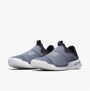 e5a7e3e1be4 New Nike Benassi Slip On Neat Grey Men Women Shoes Sneakers ...